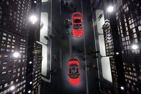 Audi Automobiles at the Frankfurt International Motor Show