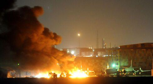 Pakistan Gun Battle Rages as Militants Storm Naval Air Base
