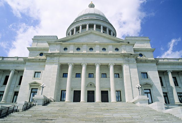 After four failed attempts, the Arkansas House of Representatives voted yesterday to renew the expansion of Medicaid.Photographer: Matt Meadows via Getty Images