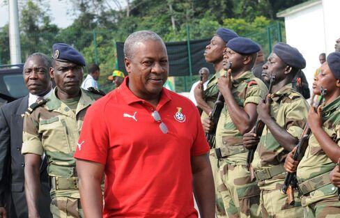Ghanan Vice-President John Dramani Mahama
