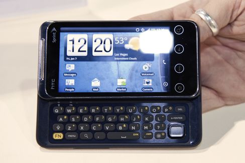 HTC Market Value Passes Nokia