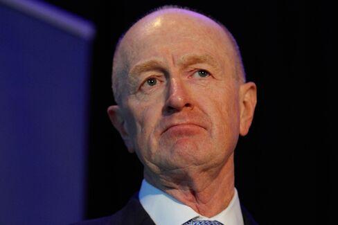 Reserve Bank of Australia Governor Glenn Stevens