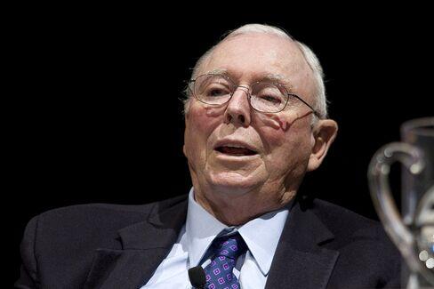 Berkshire Hathaway Vice Chairman Charles Munger