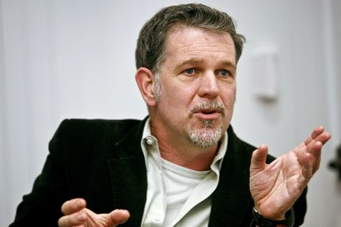 Netflix Chief Executive Officer Reed Hastings