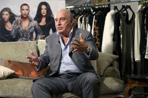 Billionaire Owner of the TopShop Fashion Chain Philip Green