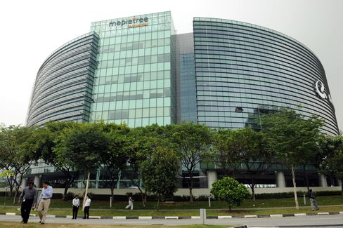 Building owned by Mapletree Industrial Trust