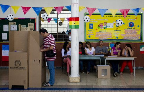 Runoff Election in Colombia