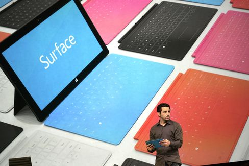 Microsoft Unveils Surface Tablet Computer, Taking on IPad