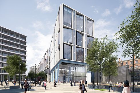 Google's London HQ With Rooftop Running Track Wins Approval