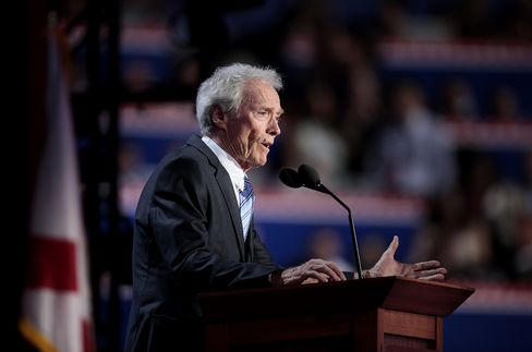 Clint Eastwood's Surprise Convention Speech Stirs Twitter Frenzy