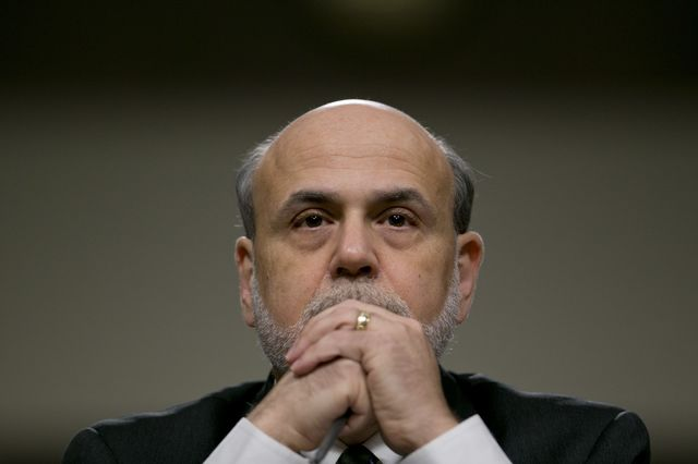 Ben S. Bernanke, chairman of the U.S. Federal Reserve. Photographer: Andrew Harrer/Bloomberg