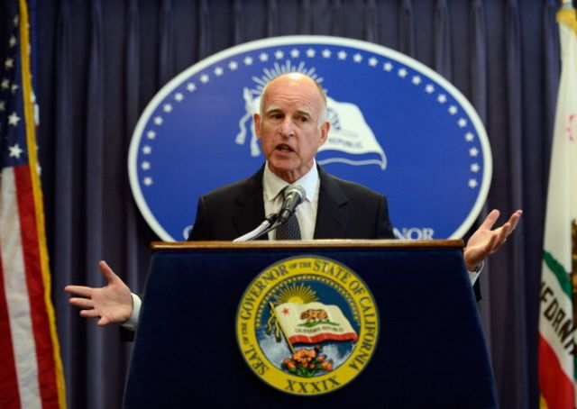 Governor Jerry Brown will face Republican Neel Kashkari, a former Treasury official who ran the federal bailout of the U.S. banking system,  in November.