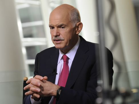 Greek Former Prime Minister George Papandreou