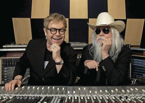 Elton John and Leon Russell