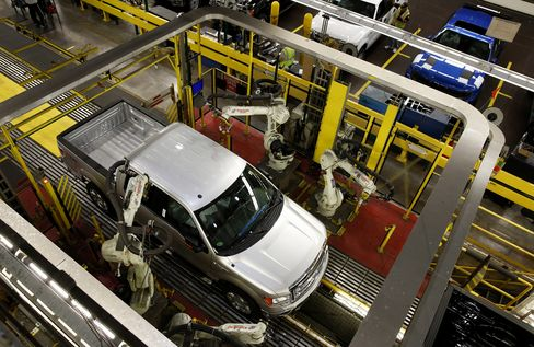 Ford F-150 Truck Production
