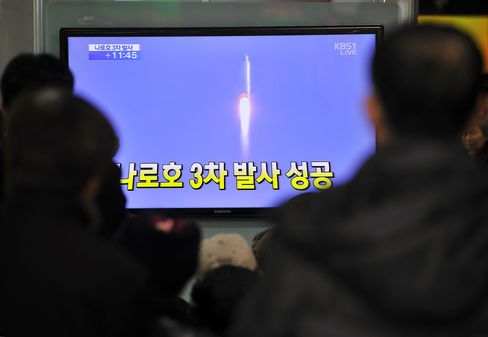 S. Korea Satellite Sends Signal as North Warns of Nuclear Test