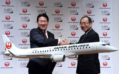 Japan Air Agrees to Buy 32 Mitsubishi Jets