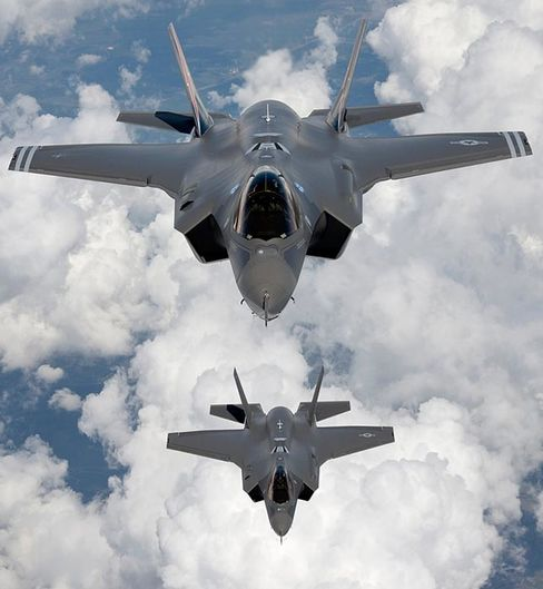 Joint Strike Fighter F-35 aircraft