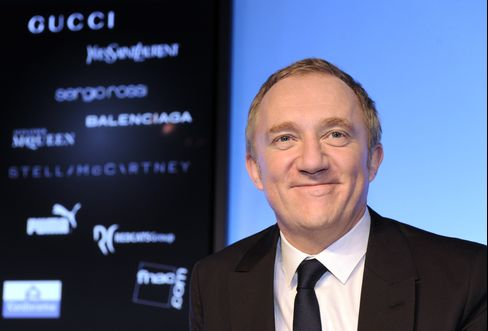 PPR SA Group chairman and CEO Francois-Henry Pinault