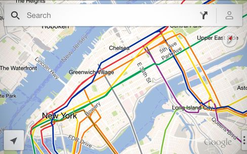 Google Unveils Map Application for Apple IPhone, IPad Users (2)