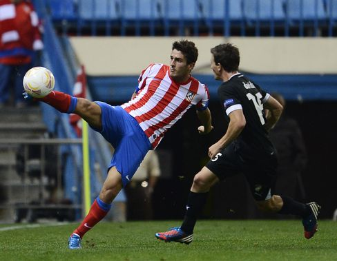 Atletico Leads Perfect Trio in Europa League as Liverpool Loses