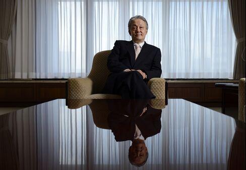 Osaka Securities Exchange President Hiromi Yamaji