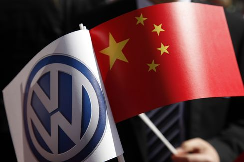 VW Races With GM for 2013 China Crown as Toyota Struggles