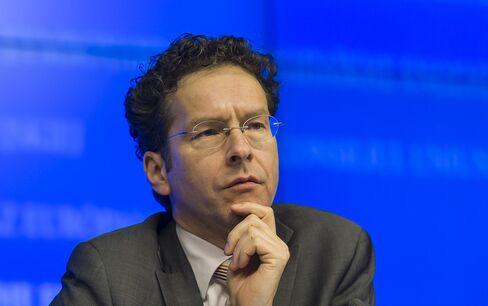 Dutch Finance Minister Jeroen Dijsselbloem