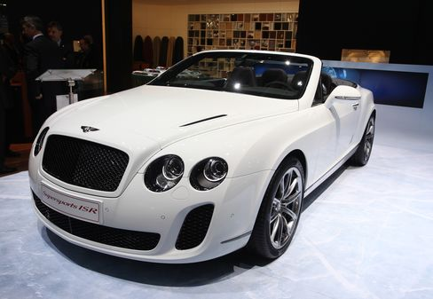 Bentley, Maserati Flaunt Top Models in Geneva