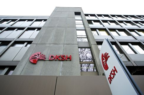 DKSH Gains as Asian Growth to Boost 2013 Earnings