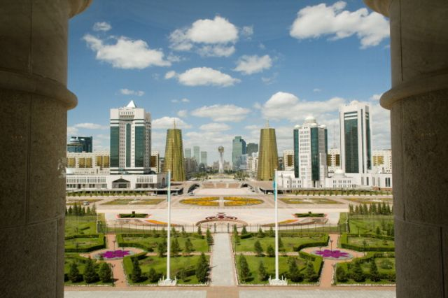 This is Kazakhstan, not China. I don't know what it says about the sovereign credit.