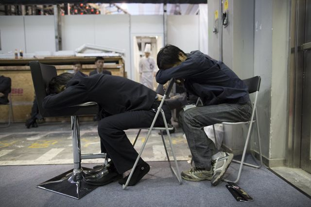 Please assume the position for today's jobs report. Photographer: Brent Lewin/Bloomberg