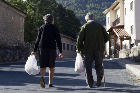 Elderly in Spain