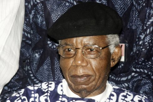 Nigerian Author Chinua Achebe