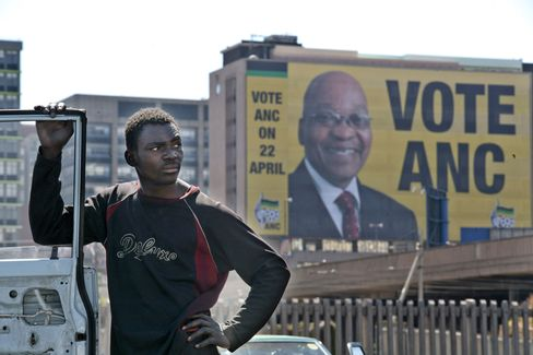 South Africa's ANC Leads in Early Results