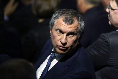 OAO Rosneft CEO Igor Sechin