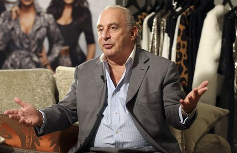 Billionaire Arcadia Group Owner Philip Green