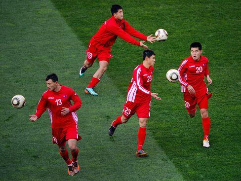 North Korea's players