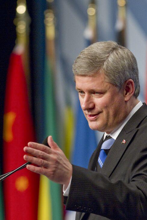 Stephen Harper, Canada's prime minister