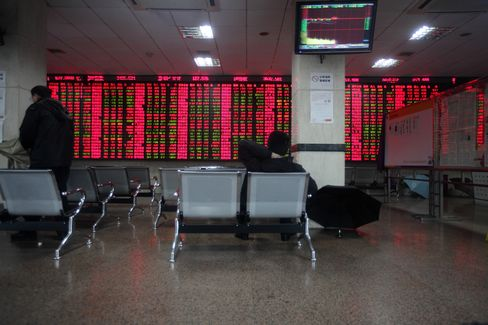China Stock Index Drops for Third Day in Economic Data Concerns