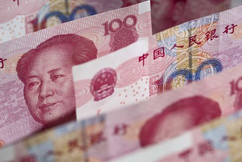 China Bulls Gain on Record Structured Notes for Yuan