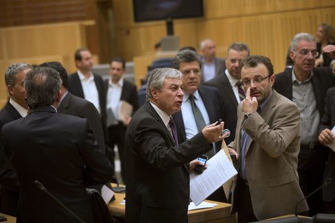 Cyprus Lawmakers to Debate Bailout Bill as ECB Deadline Looms