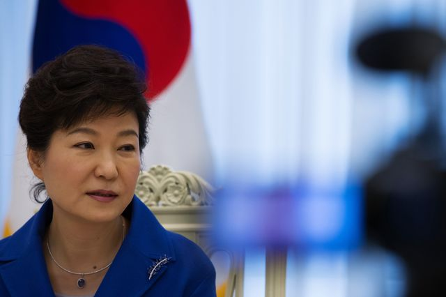Park Geun Hye, South Korea's president. Photographer: SeongJoon Cho/Bloomberg