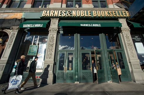 Barnes & Noble Store in New York