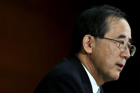 BOJ Governor Masaaki Shirakawa