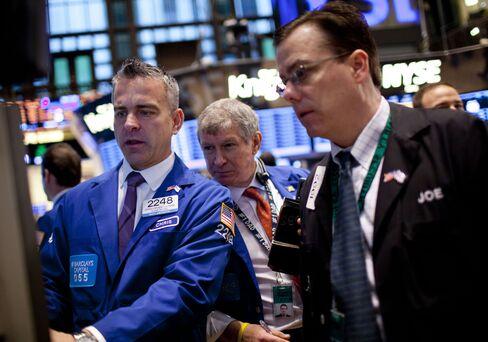 U.S. Stocks Rise on Employment Data as Treasuries Erase Loss