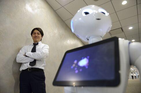 Softbank Robotics President Fumihide Tomizawa
