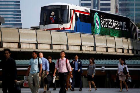 Bangkok SkyTrain-Backed Fund Raises $2.1 Billion in Largest IPO