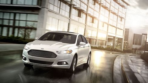 Ford Seen Reaching Record Profit on Growing Fusion Sales