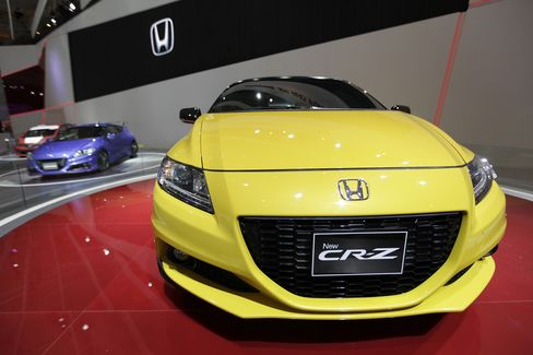 A Honda Motor Co. CR-Z Vehicle